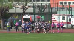 Meciul de Rugby între CS Universitatea Cluj - CS Politehnica Iași. SuperLiga CEC BANK 2016-2017