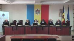 Ședința Comisiei Electorale Centrale din 14 aprilie 2017