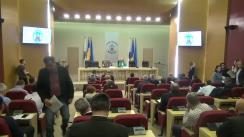 Întrunirea Comandamentului pentru condiții meteo nefavorabile de către Primarul General, Gabriela Firea