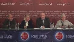 """Conferință de presă organizată de Asociația Obștească """"Moldova mea"""" cu tema """"E timpul deja să fie întrebat poporul, ce vrea să modifice în sistemul electoral al Moldovei!"""""""