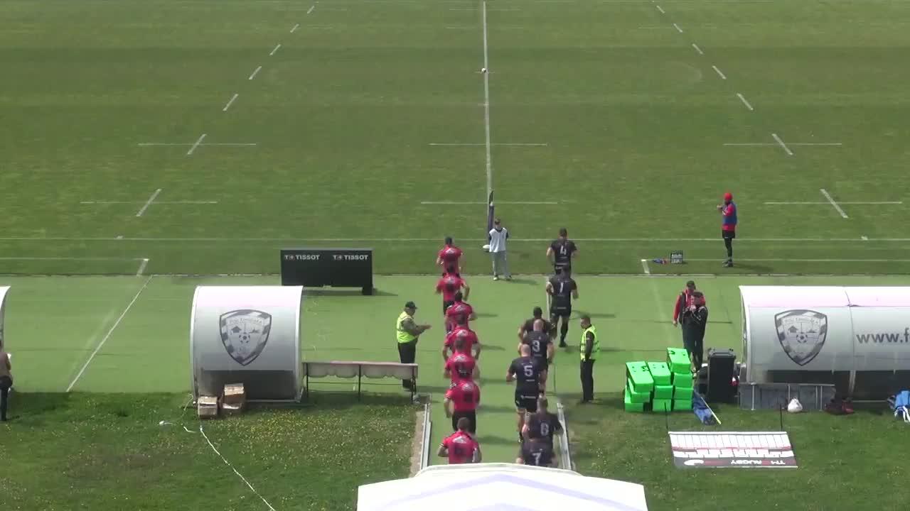 Meciul de Rugby între Timișoara Saracens - Krasny Yar Krasnoyarsk