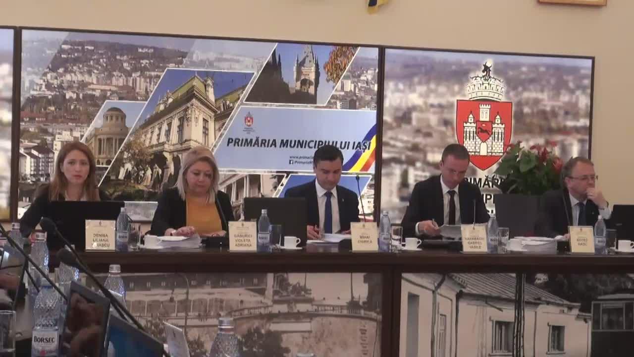 Ședința ordinară a Consiliului Local al Municipiului Iași din 24 aprilie 2017