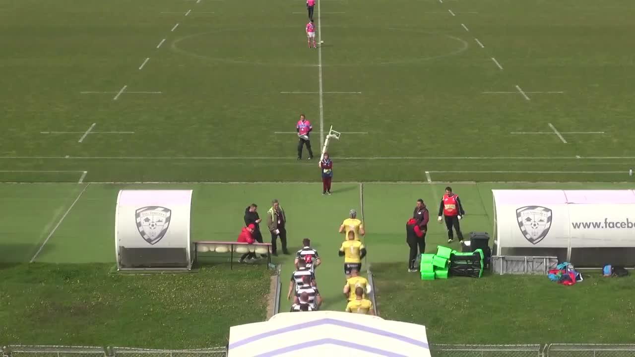 Meciul de Rugby între Timișoara Saracens - CS Universitatea Cluj. SuperLiga CEC BANK 2016-2017
