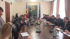 Ședința Comisiei pentru Situații Excepționale, prezidată de Prim-ministrul Pavel Filip