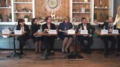 Club de presă dedicat Săptămânii Europene a Imunizărilor în Republica Moldova