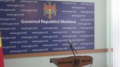 Briefing susținut de prim-ministrul Republicii Moldova, Pavel Filip