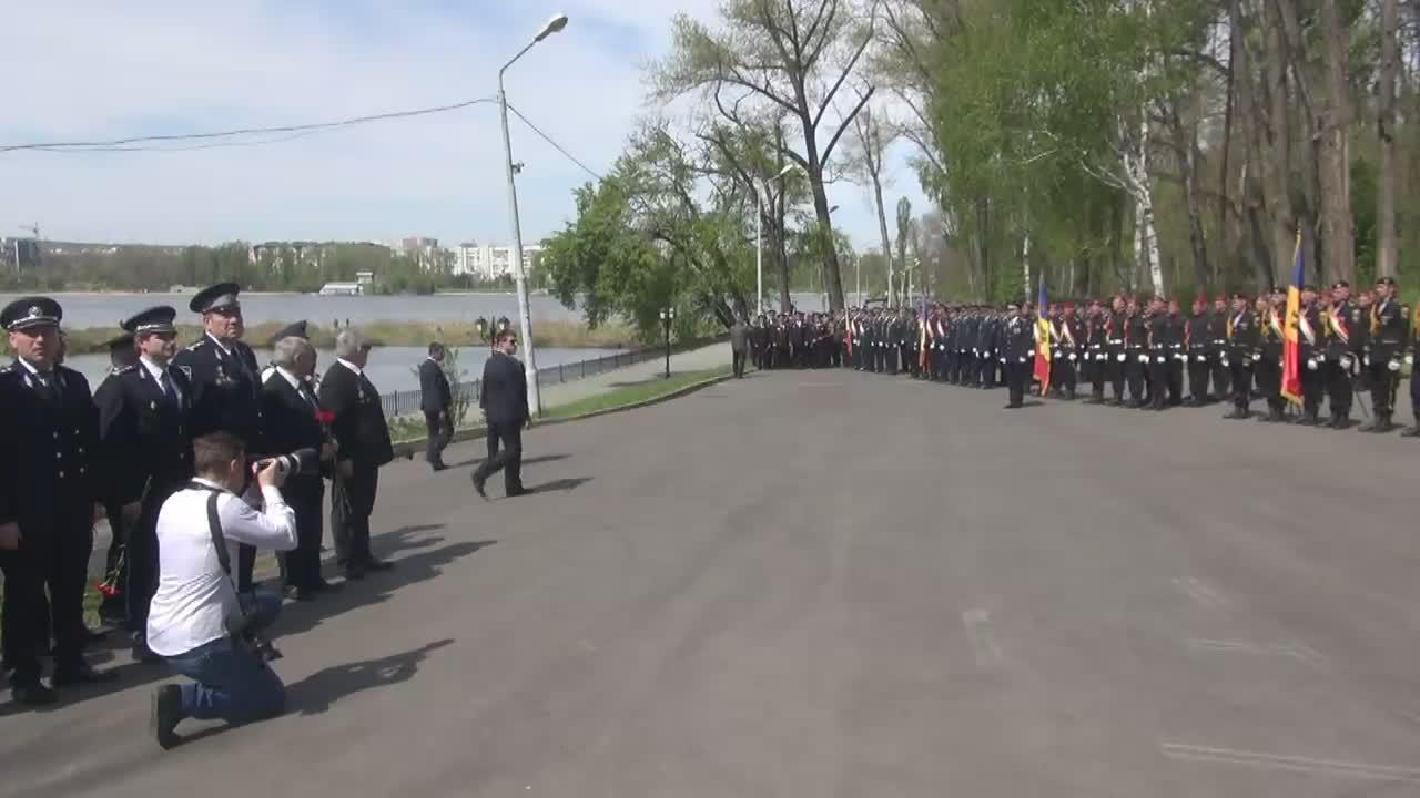 Ceremonia dedicată Zilei Drapelului de Stat al Republicii Moldova