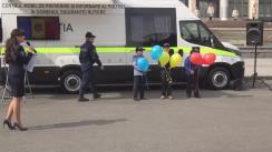Flashmob organizat de INP întru promovarea Drapelului de Stat al Republicii Moldova