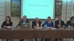 Prezentarea Barometrului Opiniei Publice, aprilie 2017