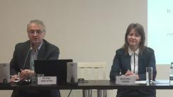 Masa rotundă de prezentare a rezultatelor primului raport al monitorizării de conținut a celor mai importante posturi de televiziune din Federația Rusă, retransmise în Republica Moldova