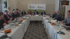 """Club de presă cu tema """"Provocările Republicii Moldova în dezvoltarea sectorului energiei verzi"""""""