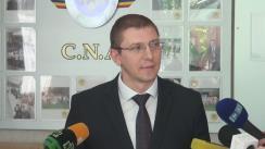 Declarație de presă pe tema dosarului privind oficialii din cadrul Ministerului Transporturilor și Infrastructurii Drumurilor