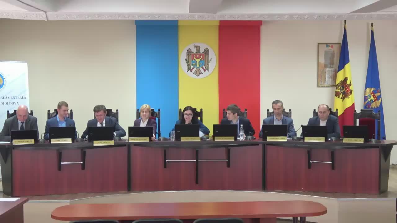 Ședința Comisiei Electorale Centrale din 2 mai 2017