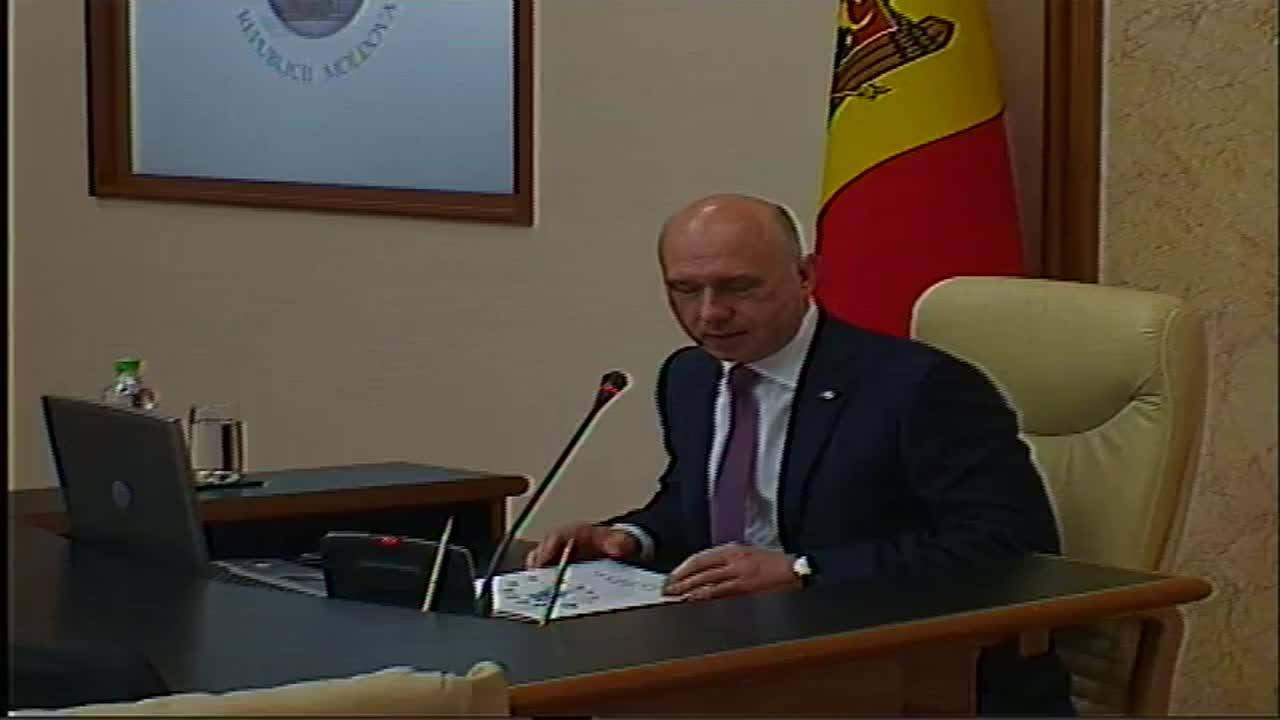 Ședința Guvernului Republicii Moldova din 3 mai 2017