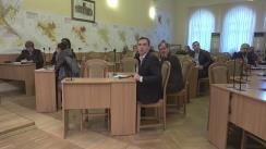 Ședința săptămânală a serviciilor primăriei Chișinău din 2 mai 2017