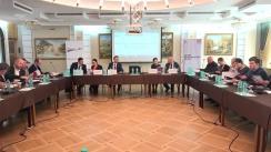 """Masă rotundă organizată de Asociația Promo-LEX cu tema """"Finanțele partidelor politice din Republica Moldova în 2016: transparență și control?"""""""