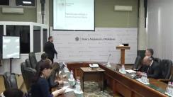 """Conferință de presă organizată de Banca Națională a Moldovei cu temele """"Raportul asupra inflației"""" și """"Situația financiară a sectorului bancar"""""""