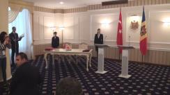 Conferință de presă susținută de Prim-ministrul Republicii Moldova, Pavel Filip, și Prim-ministrul Republicii Turciei, Binali Yildirim