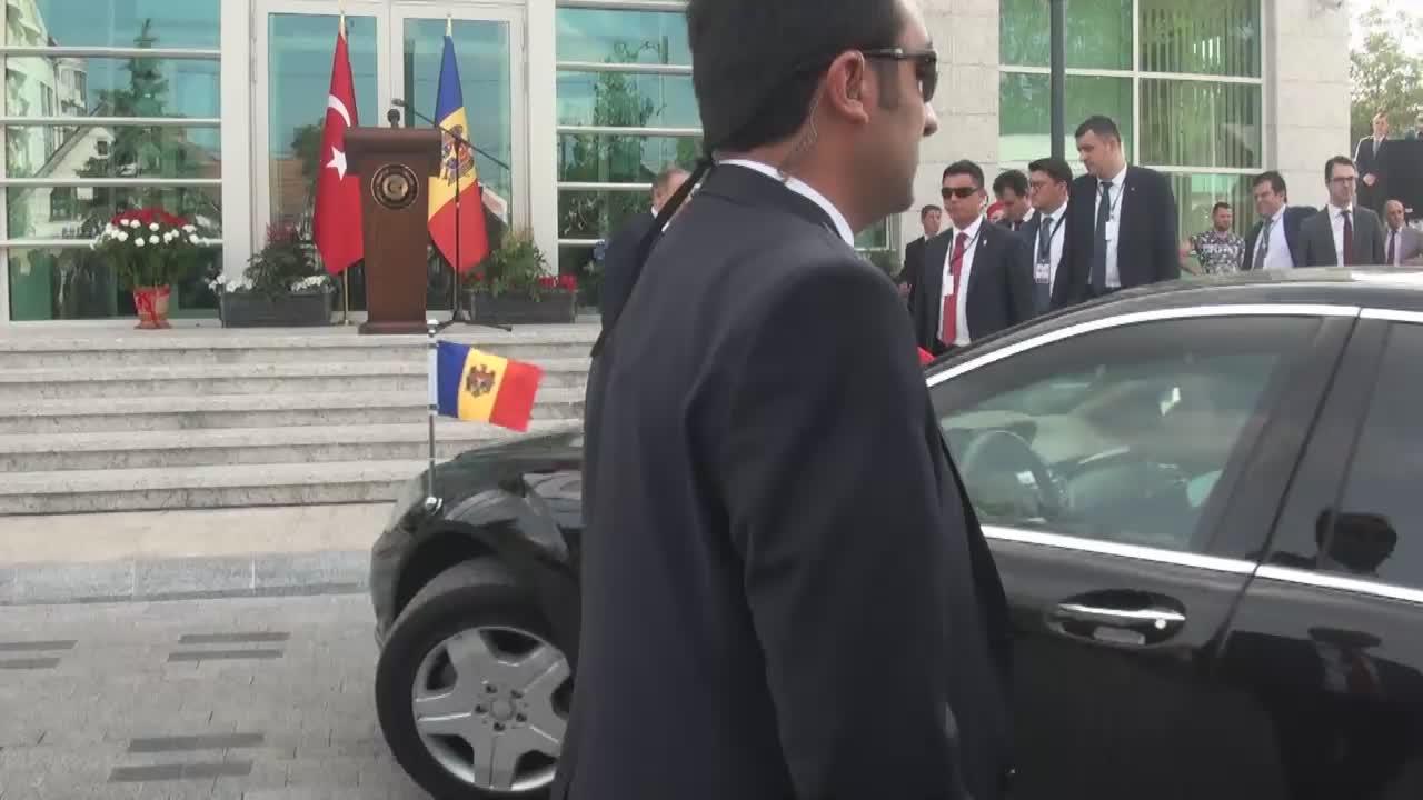 Ceremonia de inaugurare a complexului Ambasadei Republicii Turcia în Republica Moldova