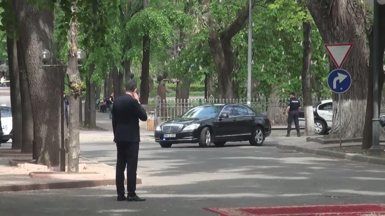Ceremonia oficială de întâmpinare a Premierului Turciei, Binali Yildirim, de către Prim-ministrul Republicii Moldova, Pavel Filip