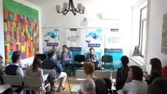 """Conferința """"Inovatori sau antreprenori în sistemul educațional"""", organizată de Asociația """"Ține de Noi"""" împreună cu Fundația Hanns Seidel - România"""