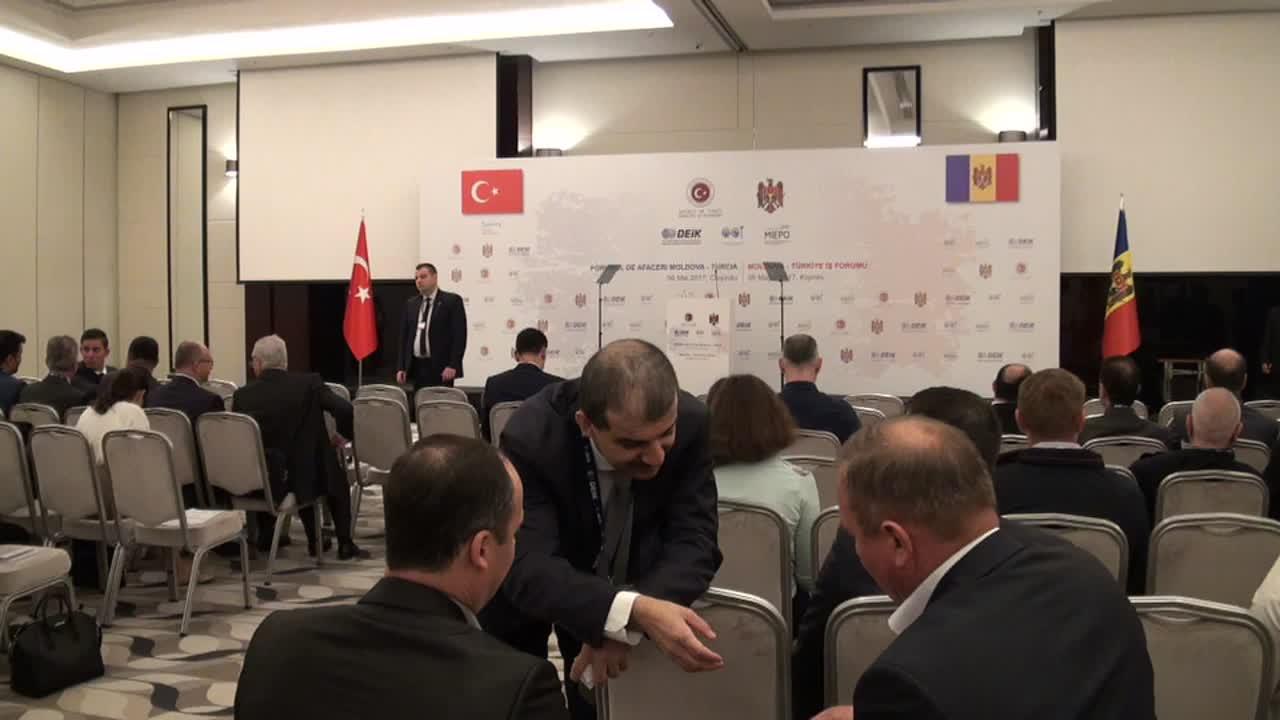 Forumului oamenilor de afaceri din Republica Moldova și Turcia