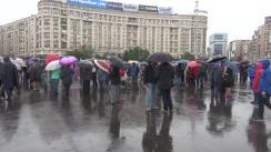Protest față de intenția de grațiere a corupților