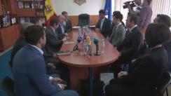 Conferință de presă cu privire la schimbul de experiență între reprezentanții Federației de Judo din Republica Moldova și antrenorii din Japonia