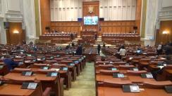 Ședința comună a Senatului și Camerei Deputaților României din 9 mai 2017
