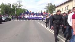 Marșul și Concertul dedicat Zilei Victoriei și Zilei Europei organizat de Partidul Democrat din Moldova