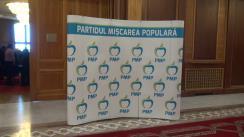 Conferință de presă după ședința Consiliului Executiv Național al PMP din 10 mai 2017