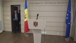 Declarația fracțiunii parlamentare PLDM după întrevederea cu delegația comună a Comisiei de la Veneția și OSCE/ ODIHR