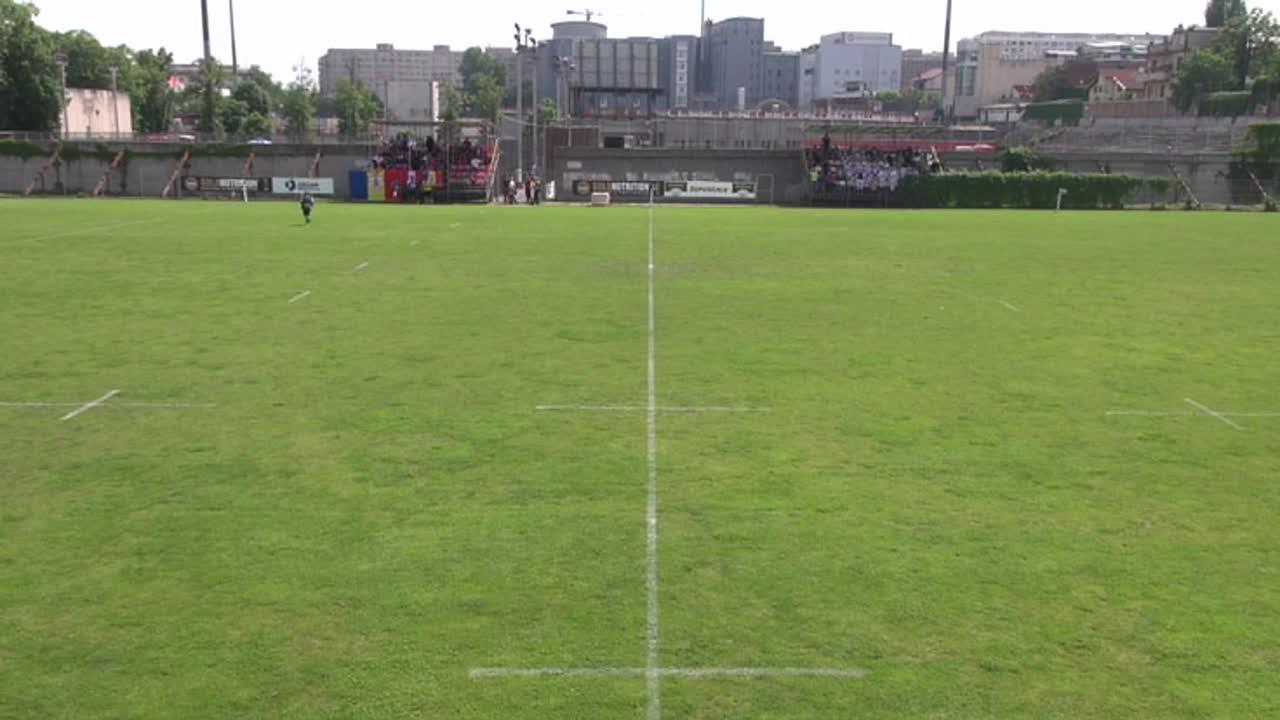 Meciul de Rugby între CS Dinamo București - CSM București. SuperLiga CEC BANK 2016-2017