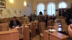 Ședința săptămânală a serviciilor primăriei Chișinău din 15 mai 2017