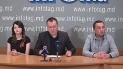 """Conferință de presă organizată de Partidul Politic """"CASA NOASTRĂ MOLDOVA"""" cu tema """"Protest împotriva modificării sistemului electoral din 14 mai: apel la mobilizare generală"""""""