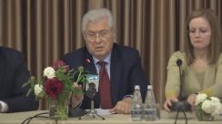 Conferința organizată de Partidul Comuniștilor din Republica Moldova dedicată centenarului Marii Revoluții din Octombrie (Tezele din aprilie)