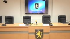 Conferință de presă organizată de IGP cu privire la măsurile complexe de asigurare a ordinii și securității publice, dirijarea traficului rutier pe durata evenimentelor care vor avea loc duminică în mun. Chișinău