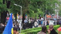 Protest față de modificarea sistemului electoral