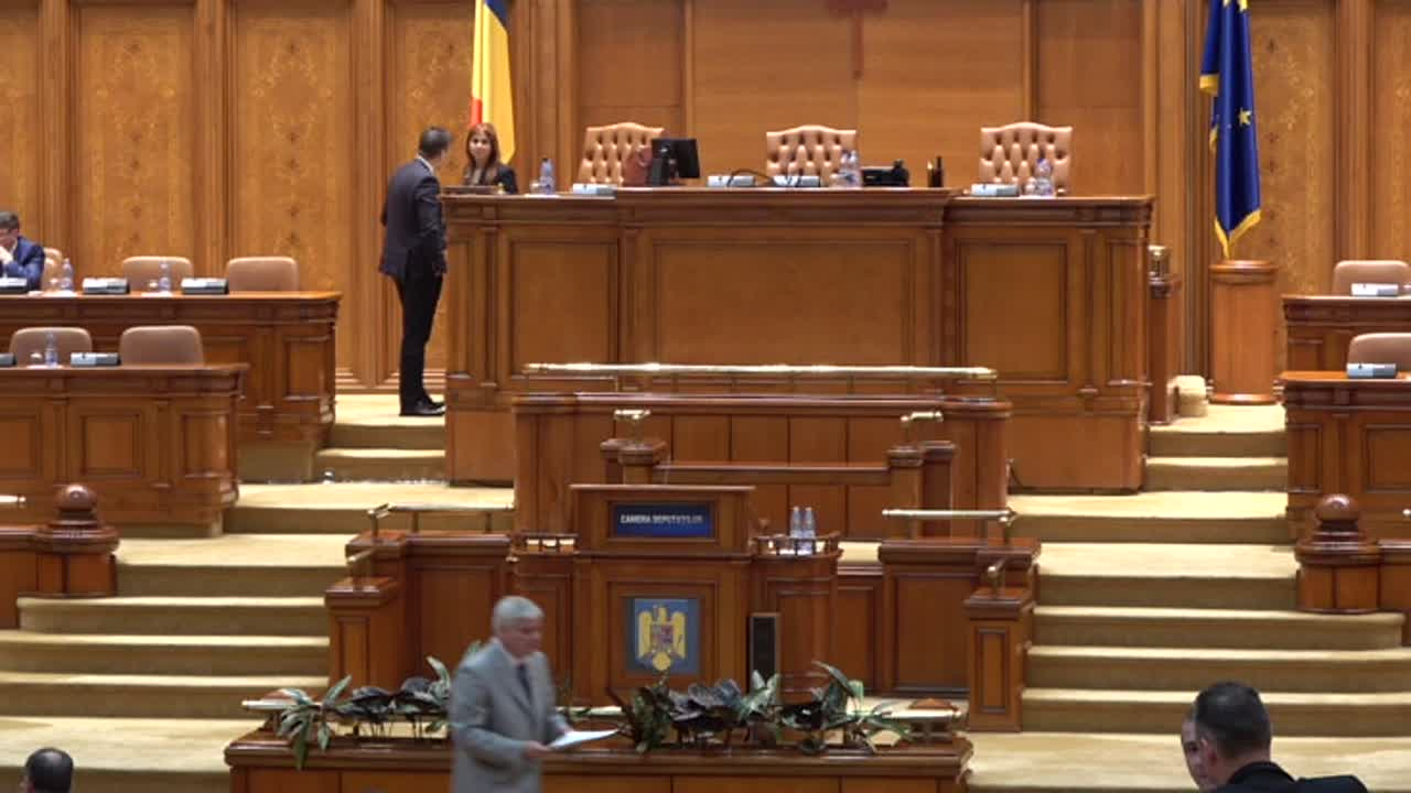 Ședința în plen a Camerei Deputaților României din 15 mai 2017