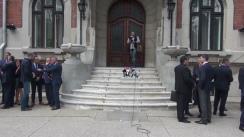 Ludovic Orban depune moțiunea de candidatură la președinția Partidului Național Liberal