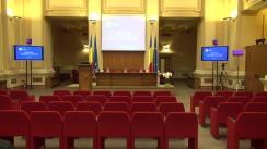 Evenimentul de închidere a proiectului de twinning implementat de Banca Națională a României în consorțiu cu De Nederlandsche Bank, destinat consolidării capacității Băncii Naționale a Moldovei în domeniul reglementării și supravegherii bancare și alinierii la cerințele Uniunii Europene