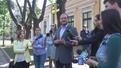 """Declarația consilierului prezidențial, Ion Ceban, ca reacție la flashmob-ul organizat de Tineretul Liberal cu tema """"Trădarea boierului Moruzi în 1812 și a lui Igor Dodon în prezent"""""""