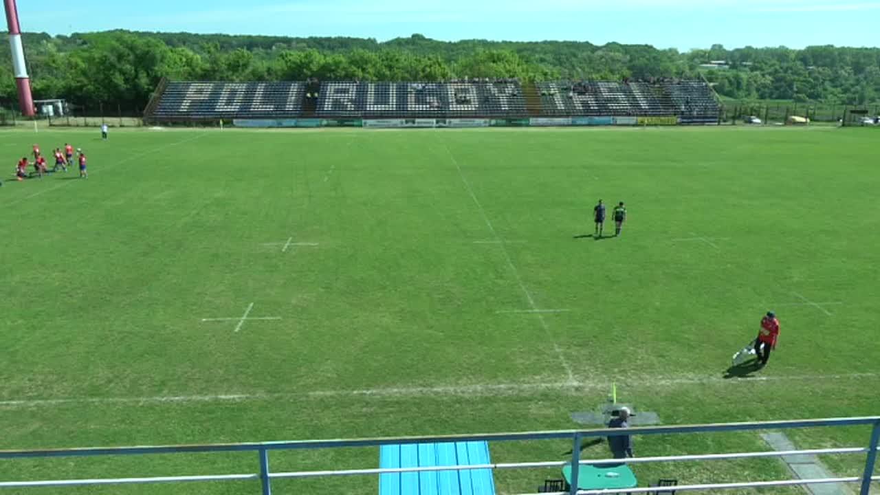 Meciul de Rugby între CS Politehnica Iași - CS Universitatea Cluj. SuperLiga CEC BANK 2016-2017