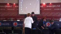 """Conferință de presă prilejuită de lansarea studiului """"Evaluarea funcționalității și impactului proiectelor de lege privind schimbarea sistemului electoral"""""""