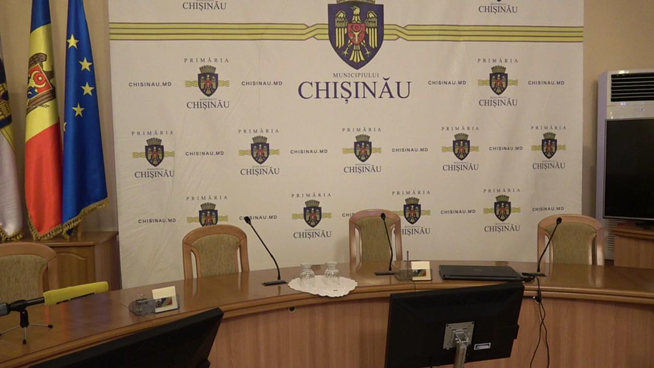 """Briefing de presă organizat de consilierii municipali ai PSRM cu tema """"Majorarea tarifelor la apă în Chișinău"""""""