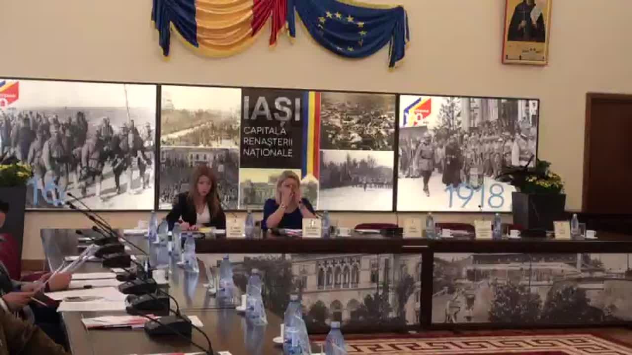 Ședința extraordinară a Consiliului Local al Municipiului Iași din 22 mai 2017