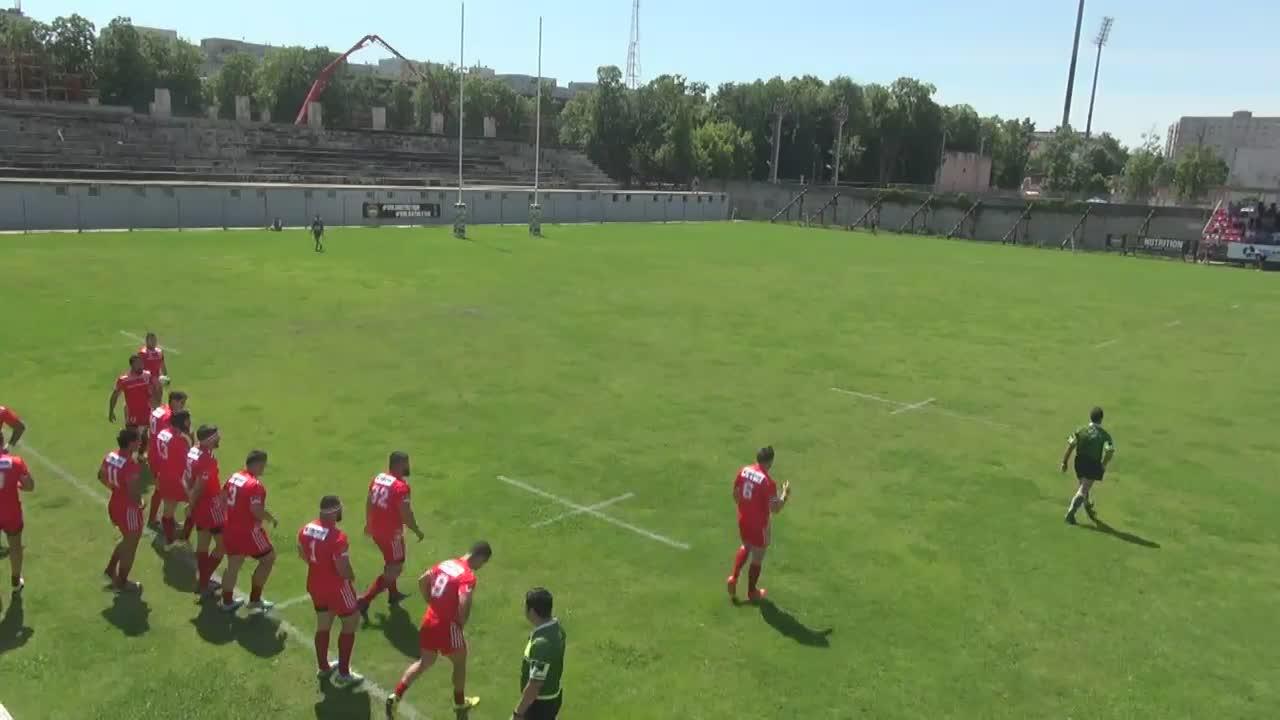 Meciul de Rugby între CS Dinamo București - CS Politehnica Iași. SuperLiga CEC BANK 2016-2017. Play-Out 2
