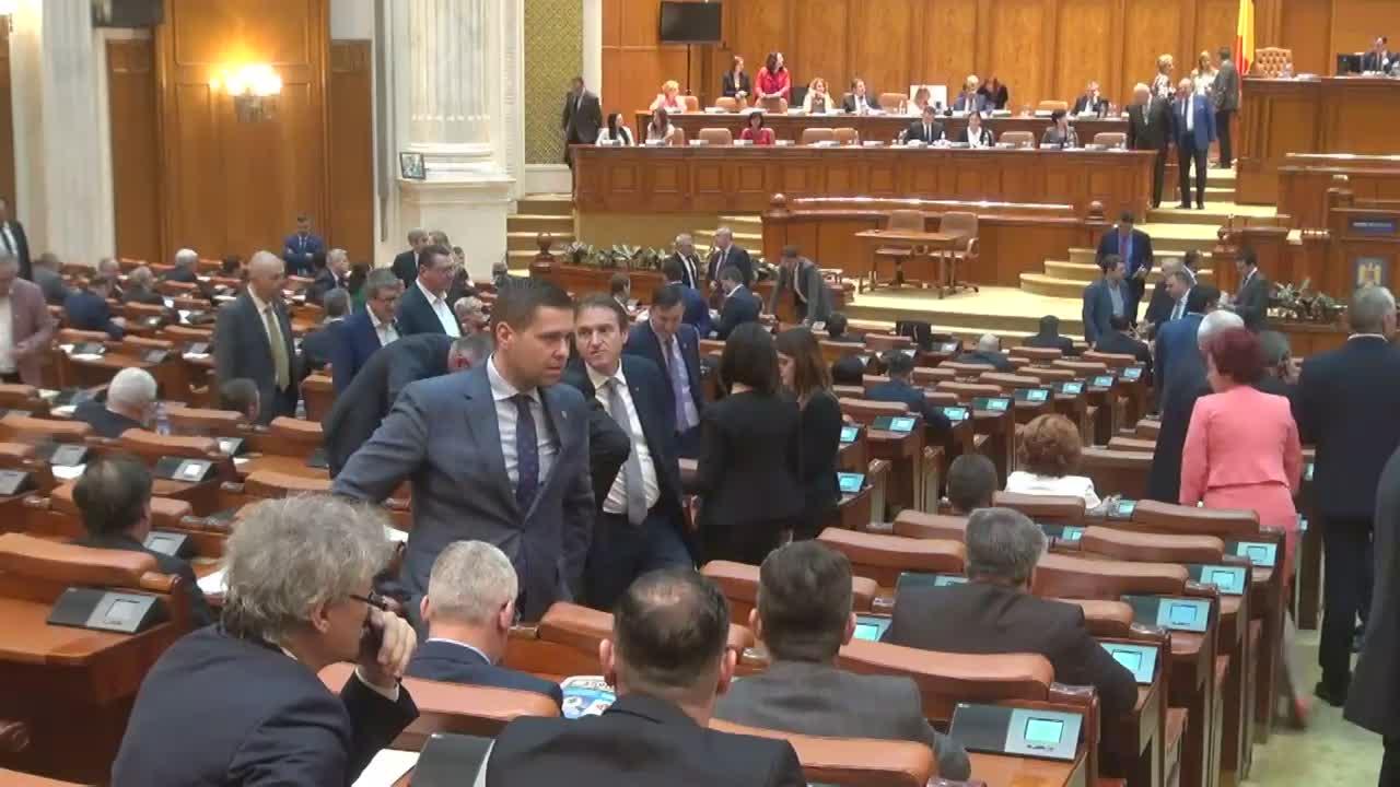 Ședința comună a Senatului și Camerei Deputaților României din 24 mai 2017