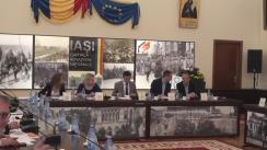 Conferință de presă susținută de primarul municipiului Iași, Mihai Chirica, și academicianul Ioan-Aurel Pop