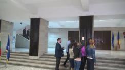 Declarații de presă după vizita de lucru a premierului României, Sorin Grindeanu, la Ministerul Transporturilor